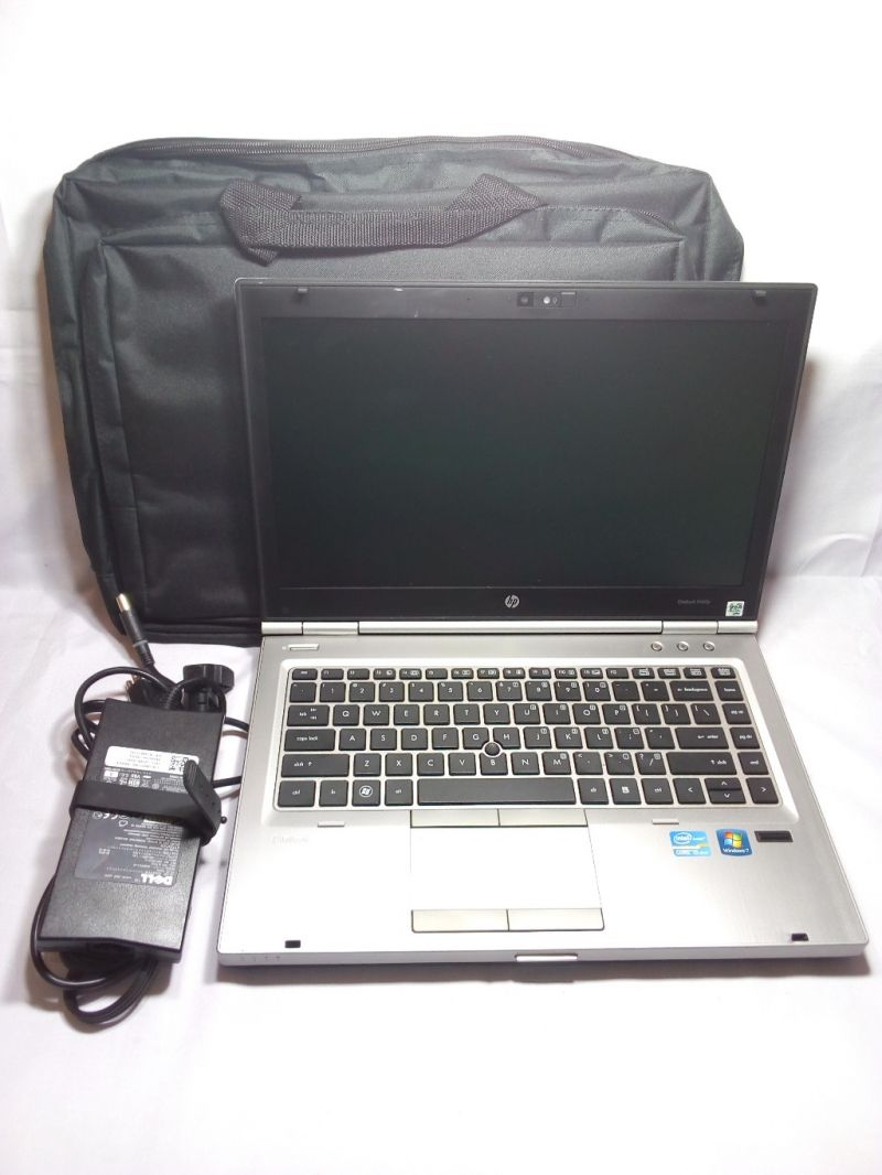 HP elitebook 8460p CORE i5 SANDY BRIDGE DDR3- WIN 7 PRO